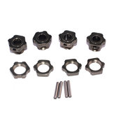 12PCS ZD Racing 8068 17mm Wheel Hex Hub Adapter for 9116 08427 1/8 2.4G 4WD Rc Car Parts