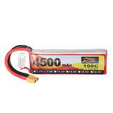 ZOP Power 7.4V 4500mAh 100C 2S Lipo Bateria XT60 Plug para RC Drone