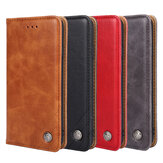 Bakeey for Xiaomi Redmi Note 10/ Redmi Note 10S Case Retro Flip with Multi-Card Slot PU Leather Shockproof Full Body Protective Case Non-Original