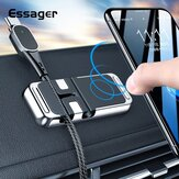Essager 2 in1 Magnetic Car Phone Holder Cable Organizer Car Mount for iPhone 12 Series Smartphone In Car / Home / Office / Desk / Wall