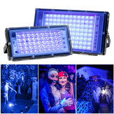 Holofote LED UV 30W 50W 100W AC 220V 230V 240V Holofote externo IP65 à prova d'água LED Lâmpada de rua Iluminação de paisagens