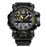SANDA 732 Moda LED Display Hombre Reloj 30M impermeable Sport Digital Watch