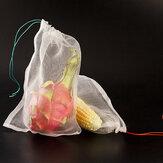 50 unidades de sacolas de proteção de frutas para agricultura, frutas, hortaliças, proteção de malhas, bolsas de rede