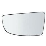 Lewe lusterko wsteczne dolne szkło + płyta tylna dla Forda Transita MK8 2014 i późniejszych