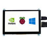 Wareshare® 5 Inch VGA HDMI de alta definición Pantalla Soporte de pantalla táctil capacitiva para NVIDIA Jetson Nano Raspberry Pi