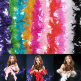 Kostuum Fluffy Feather Boa Hen Night Party Wedding Dress Up Sjaal