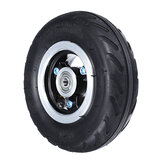 6X2 Inflation Inner Tube Tire Wheel Use 6inch Tire Alloy Hub 160mm Pneumatic Tyre Scooter