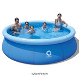 JILONG 420x84cm 1-9 People Swimming Pools Above Ground Inflatable Bathtub Swimming Pools for Kids and Adults