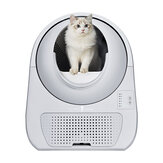 CATLINK CL-03 Automatic Cat Litter Pot DC 12V 5W Auto-sensing One-click Empty Double Seal Deodorization-Gray
