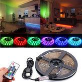 DC5V USB RGB 5050 Wodoodporny 17 klawiszy zdalnego sterowania Taśma LED podświetlenie zestawu do telewizora
