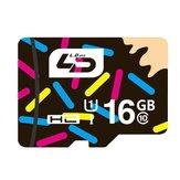 LD 16GB Scheda di memoria flash di classe 10 ad alta velocità per schede di memoria flash per telefono cellulare Samsung