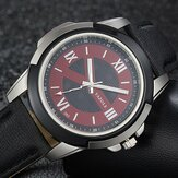 YAZOLE 383 Men Watch Leather Strap Luminous Casual Outdoor Male Quartz Wrist Watch
