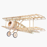 Mini Camel Fighter 380 mm Wingspan Balsa Wood Laser Cut RC Airplane Kit