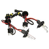 Pair H4 H4-2 35W 55W Hi-Lo Dual Beam Car Xenon Headlight HID Light Bulb Lamp Kit