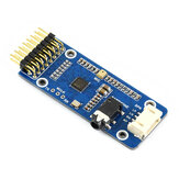 Waveshare® WM8960 Audio Codec Module Stereo Playback Recording I2C Interface Support STM32 Decoder Board
