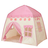 51inch Large Sturdy Kids Play Tent Princess Playhouse Castle Children Fairy Tale Teepee Indoor/Outdoor with Carry Bag for Boys Girls Gift