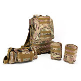 60L Molle Riding Tactical Bag Pouch Camping Racing Trekking Backpack Rucksack