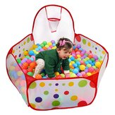 Outdoor Baby Ball Pool Folding Kids Toddlers Play Games Tent Basketball Rainbow Balls Pool