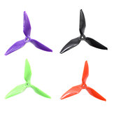 10 Pairs Eachine Wizard X220S RC Drone 5051 3 Blade Propellers Purple 5.0mm Mounting Hole