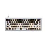 [Aluminum Alloy Version] Geek Customized GK68X GK68XS Keyboard Kit Hot Swappable NKRO RGB Wired bluetooth Dual Mode PCB Mounting Plate Case Customized Kit