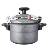 Slkima 3L Portable Aluminium Pressure Rice Cooker Stovetop Cooking Pot for Outdoor Camping
