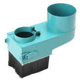 Nettoyeur de couverture de poussière de broche de 70 mm pour fraiseuse de gravure à rouleaux CNC