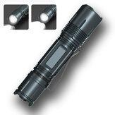 XANES® W567 XPH50 1100LM 3-Modes Tactical Flashlight USB شحن LED Torch Portable EDC Flashlight
