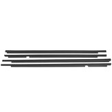 4 PCS Para LEXUS GX470 75722-60080 WEATHERSTRIP WINDOW BELT MOLDING 2003-2009
