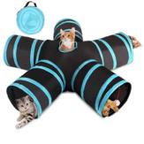 5 irányú kisállat-macska alagút játék játék összecsukható vicces játszóház sátor vadászkutya kellékek