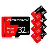 MicroData 8GB 16GB 32GB 64GB 128GB Classe 10 de alta velocidade máx. 80 Mb / s TF Cartão de memória com adaptador de cartão para celular tablet GPS câmera