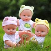 30CM Newborn Baby Boneca Gift Toy Soft Vinil Silicone Lifelike Newborn KidsToddler Girl