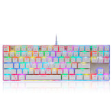Motospeed K87S 87keys Blue Switch RGB Backlight Mechanical Gaming Wired Keyboard