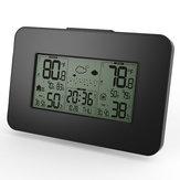 LCD Display Estação Meteorológica Relógio Alerta Eletrônico Temperatura Termômetro Umidade Com Sensor