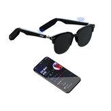 [Design a conduzione ossea] NASCONDI TOPSKY TWS bluetooth 5.0 Smart Occhiali Microfoni con controllo tattile a induzione intelligente Occhiali da sole intelligenti impermeabili IP65