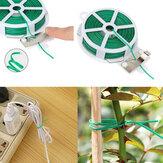 Laço do jardim de Plástico Fio Linha de Escalada Plantas Cabo Flor Pepino Uva Titular Rattan