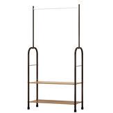 SUOERNUO Garment Clothes Rack Stand Organizador de suspensão Suporte de armazenamento de armário de metal
