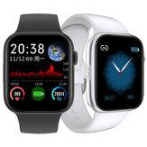 Bakeey SE03 1.54 inç Tam Dokunmatik Ekran EKG + PPG Kalp Kan Basıncı Oksijen Monitör Kamera Müzik Kontrol Hava Ekran Akıllı İzle