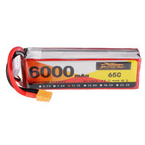 ZOP Power 11.1V 6000mAh 65C 3S Lipo Batteria XT60 Spina per RC Drone