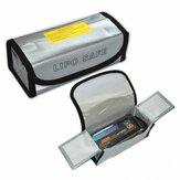 185x75x60mm Bateria Lipo Przenośna ognioodporna torba przeciwwybuchowa