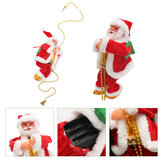 Natal Senta Claus Escalada Escada Pendurado Decorações Holiday Gift