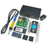 KSGER STM32 V2.1S T12 OLED Soldering Iron Station Tips Aluminum Alloy 9501 Handle Controller Welding Stand Tools Power Supply