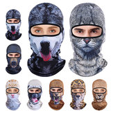 3D Animal Breathable Bicycle Ski Full Face Máscara Chapéus