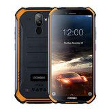 DOOGEE S40 5.5 pulgadas IP68 IP69K Impermeable NFC Android 9.0 4650mAh 3GB 32GB MT6739 4G Smartphone