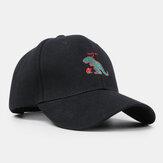 Gorra de Béisbol Unisex Pequeño Dinosaurio Bordado Sombrero