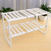 Superposition Shelf Multilayer Foldable Storage Racks Kitchen Shelving Holders Multi Use Organizer