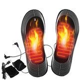 Palmilhas aquecidas recarregáveis aquecedor de pés Aquecedor Calçados para botas de calor USB Carregamento elétrico aquecedor palmilhas