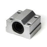 Bloc en aluminium de bagues de glissière de roulement à billes de mouvement linéaire SCS8 / 10/12 / 16UU de Machifit pour des pièces de commande numérique