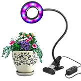 8W LED USB-binnenkant Clip-on Dimbare Plant Grow Light Desk Lamp DC5V