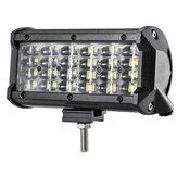 72W 7 Zoll RGB LED Arbeitslichtleiste Fahrnebelscheinwerfer 10-32V Für 4WD SUV Truck UTE Offroad ATV