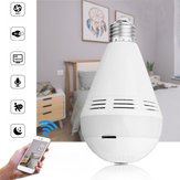 E27 960P Wireless bluetooth WIFI  360° Panoramic Hidden IP Camera Music LED Bulb AC110-220V